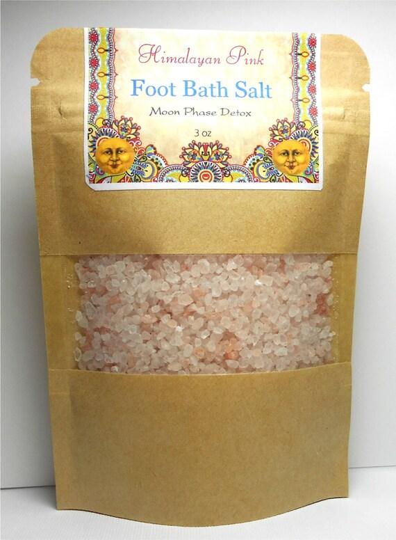 Bath Salts - Foot - Moon Phase - Detox