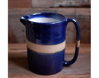 pitcher : cobalt blue