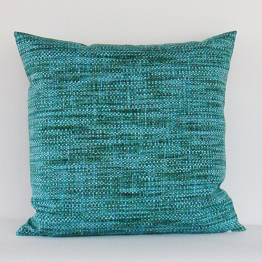 Teal Turquoise Outdoor Pillow Cover Decorative Throw Accent