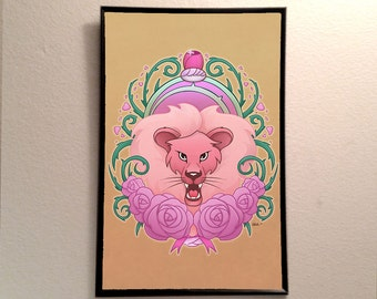 "Steven Universe Lion Inspired 11x17"" Poster Print"