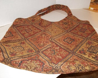 Tapestry Tote Lined  Free Shipping