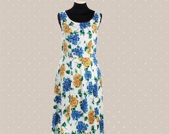 1950s Vintage flower dress