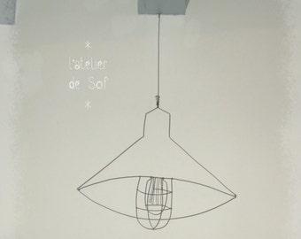 light, sun ... industrial luminaire wire