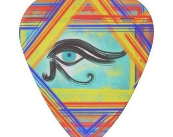 Eye of Horus Guitar Pick