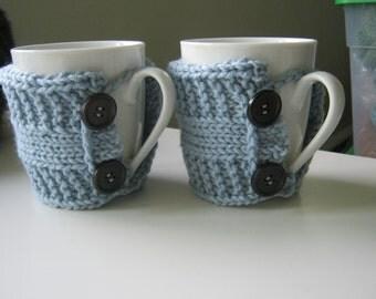 Teacher gift Coffee mug cozy tea cozy rustic home cozy cup gift  teacher knit cup warmer knit mug cozies knit coffee sleeve gifts under 20