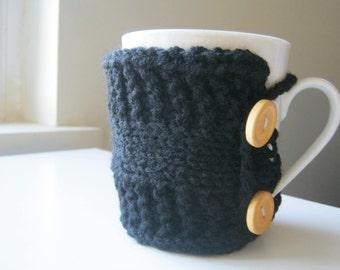 Teacher gift Coffee mug cozy black tea cozy boho cozy teacher gift coffee knit cup warmer knit mug cozies knit coffee sleeve gifts under 20