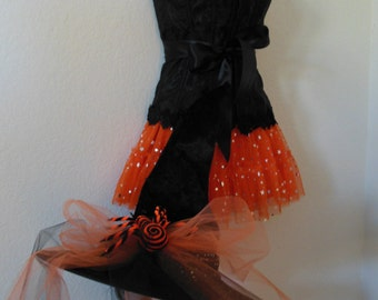 Witch Costume Sz 14/16 by Violet Castle Costumery