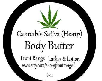 Cannabis Body Butter - Hemp Oil - Hand Cream