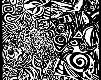 Circus - original limited edition abstract digital print