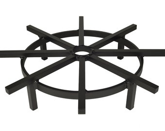 Super Heavy Duty 24 Inch Ship's Wheel Grate for Outdoor Fire Pit