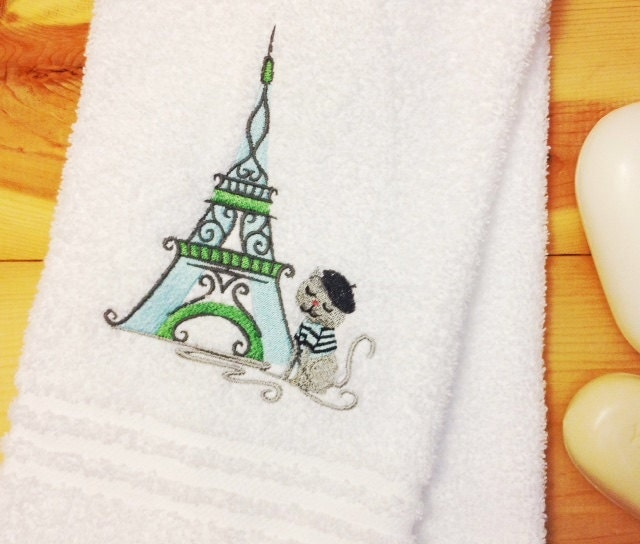 Https Etsy Com Listing 231909979 Paris Bathroom Decor Kitty Cat At The Ref Shop Home Active 2