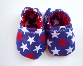 Baby Booties 4th of July