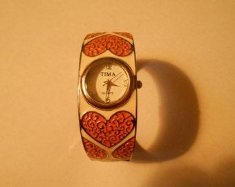 vintage tima ladies bracelet watch