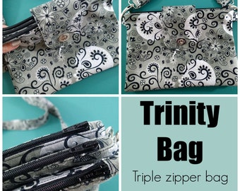 The Trinity Bag  - PDF Sewing  pattern