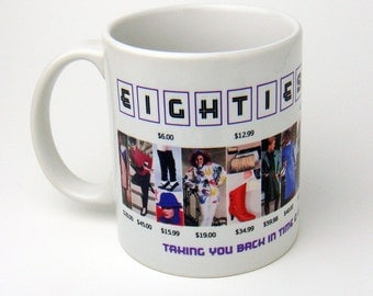 1980s Fashion Collection Coffee Mug