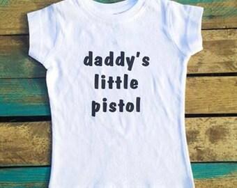 Daddy's Little Pistol Tee