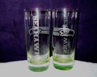 Seahawks glasses