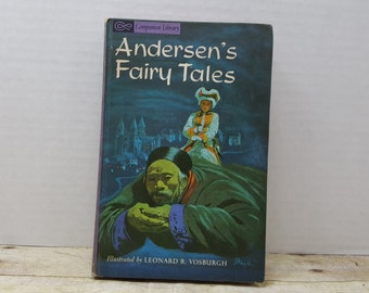 Andersens Fairy Tales, 1963, Companion Library, vintage kids book