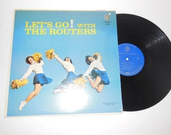 """Let's Go! with the Routers 1963 Pop Surf Instrumental Music 12"""" Vinyl Record LP"""