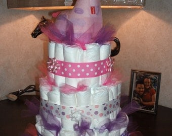 Made to order Diaper Cake