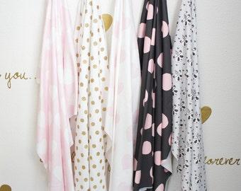 Organic Cotton Swaddling Blanket