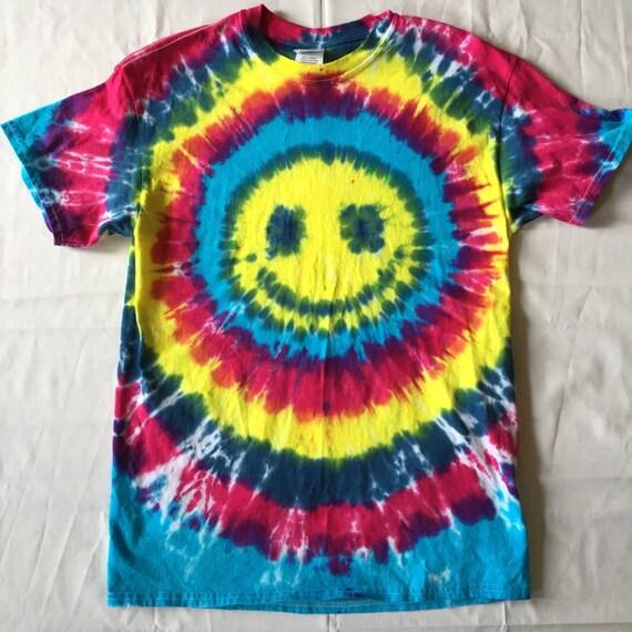 Smiley Face Tie Dye T-shirt