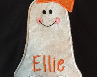 Girly Ghost applique