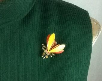 QUEEN BEE Brooch Pin Costume Jewelry
