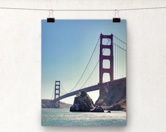 Golden Gate Bridge, San Francisco Photography, Landscape Photo, Travel