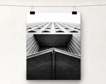 Four Fifty Sutter, Black and White Photography, San Francisco, Art Deco