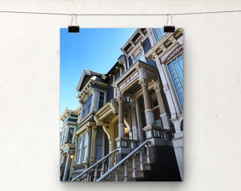 Victorian Houses, Colourful Photography, San Francisco Architecture