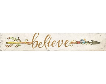 MA2082 - Believe Arrow - 36 x 6
