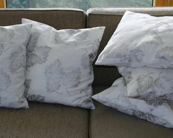 Elegant embroidered cushion covers