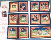 The Christmas Lamb By Susan Winget for Fabric Traditions Fabric Panel