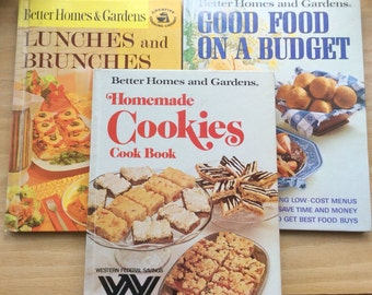Better Homes and Gardens Cook Book -- Set of three