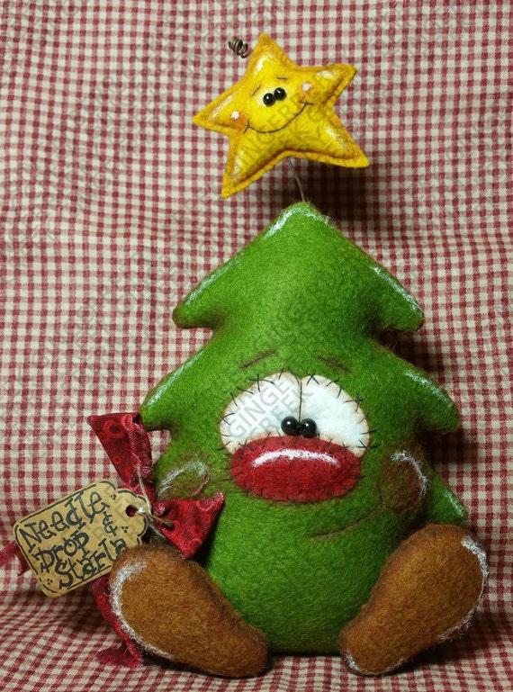 E pattern needle drop and starla pattern 191 primitive - Como hacer decoraciones navidenas ...
