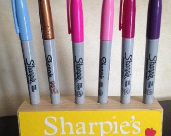 Sharpie/ pen holder teacher gift