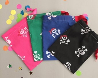 5 Pirate party bags