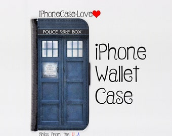 iPhone SE Case - iPhone SE Wallet Case - Tardis iphone SE Case - Tardis iPhone se Wallet Case -Doctor Who iphone se case