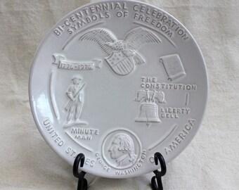 Vintage Frankoma Bi-Centennial Celebration/Joniece Frank/Symbols of Freedom