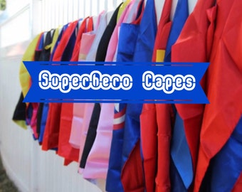 Superhero Cape - Ready2ship- Super hero-- Superhero Party- Captain America - Hulk - Avenger Cape-Super Hero Cape -SuperHero Birthday Cape