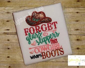 girls cowgirl shirt Cowgirl birthday girly shirt  cowboy shirt Rodeo girls shirt in pink aqua brown birthday shirt clothing birthday outfit