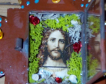 Sacred Heart Nicho Cross