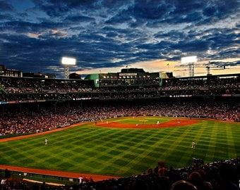 Boston Red Sox Photography / Massachusetts Photography / Wall Art / Fine Art Photography / Baseball Home Decor / Fenway Park Field of Dreams