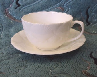 Wedgwood Oceanside Sea Shell English Cup and saucer