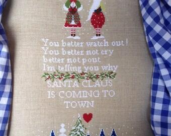 Santa claus is coming