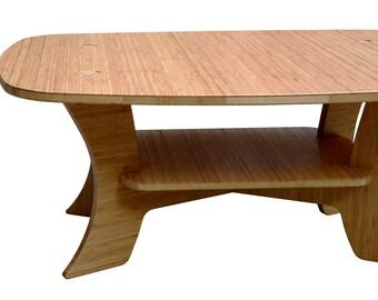 Bamboo Coffee Table - Samurai Series Rectangular