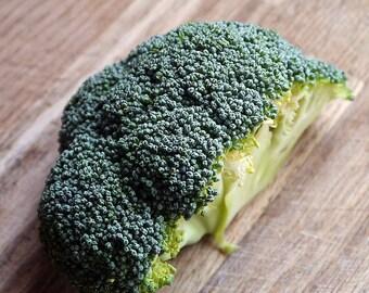 "O.P. Broccoli seeds, ""Limba"" - resists bolting for Spring broccoli heads"