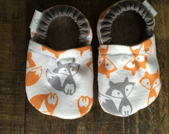 0-6 month Foxes booties