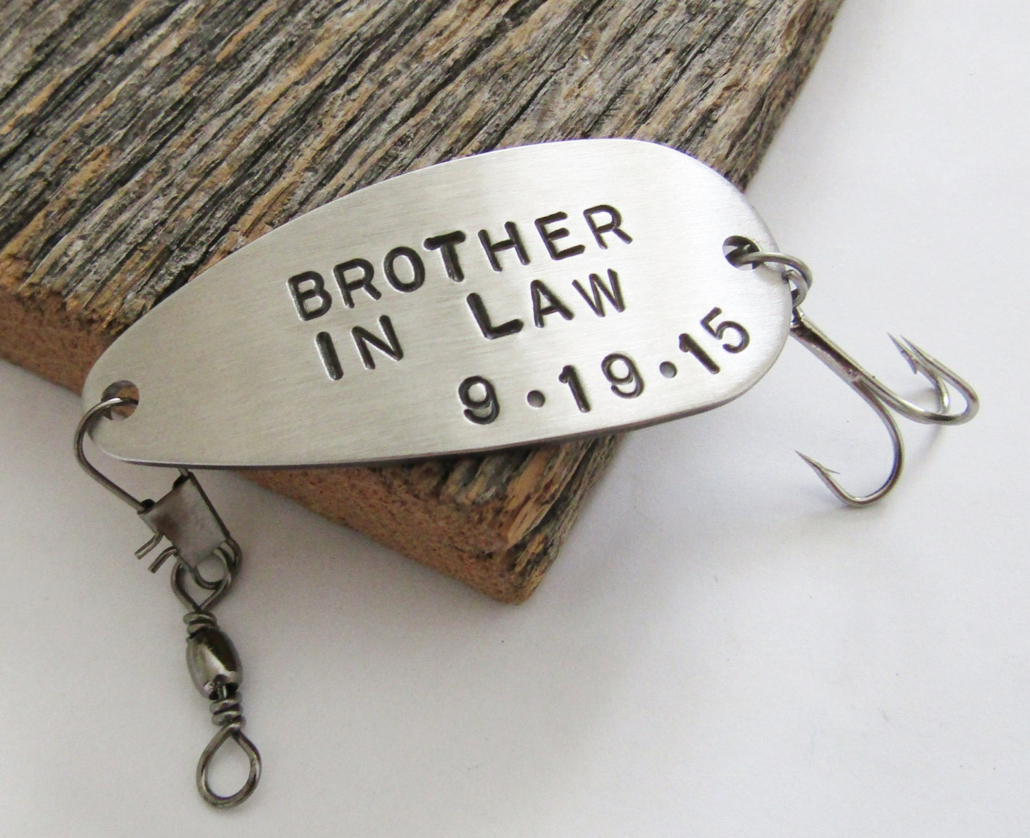 Brother In Law Gift for Brother In Law Wedding by CandTCustomLures